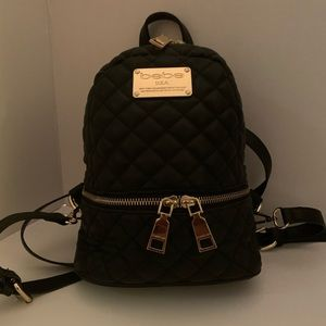 BeBe Quilted Bookbag Purse